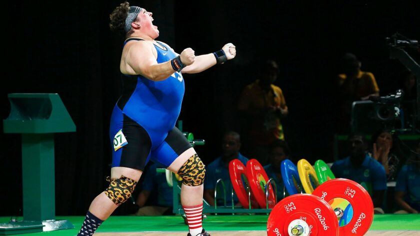 Sarah Robles of Desert Hot Springs returned from a two-year drug suspension to win a bronze medal in the 2016 Rio Games.