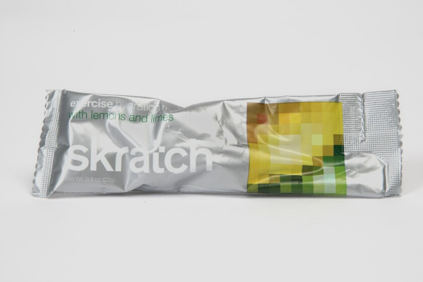 Hydration products, such as Skratch Labs' powdered carbohydrate and electrolyte mixes, are offering alternatives to plain water as thirst busters.