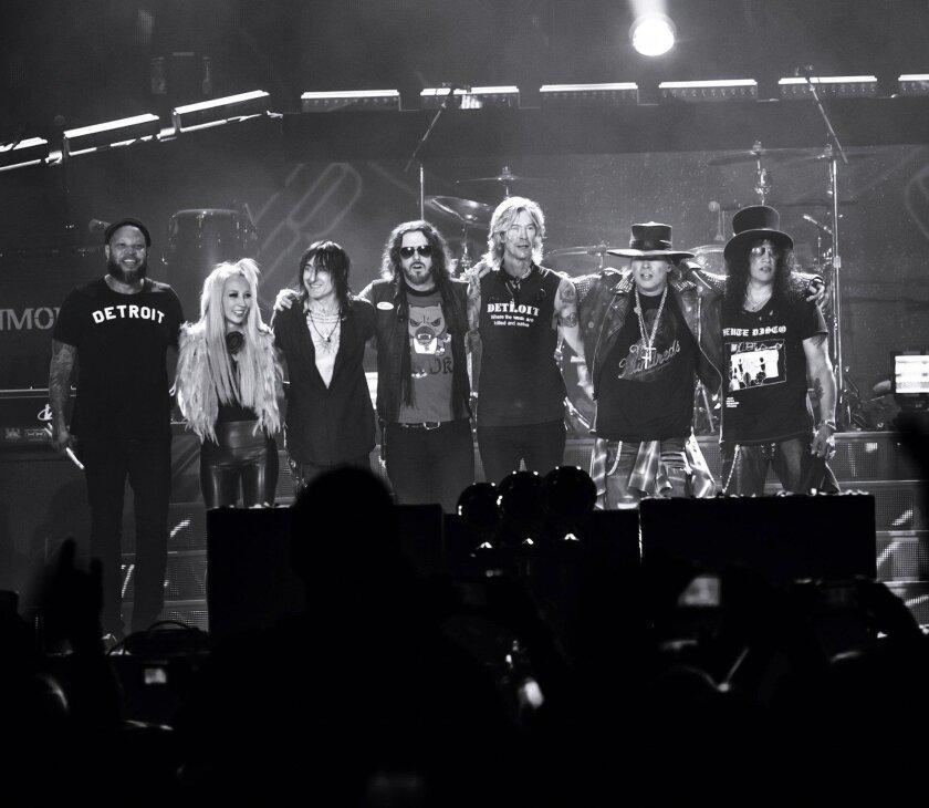 Guns N' Roses opened their summer tour June 23, 2016 in Detroit.  Katarina Benzova photo