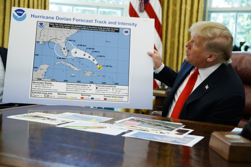 Trump and the hurricane: How much damage did he do?