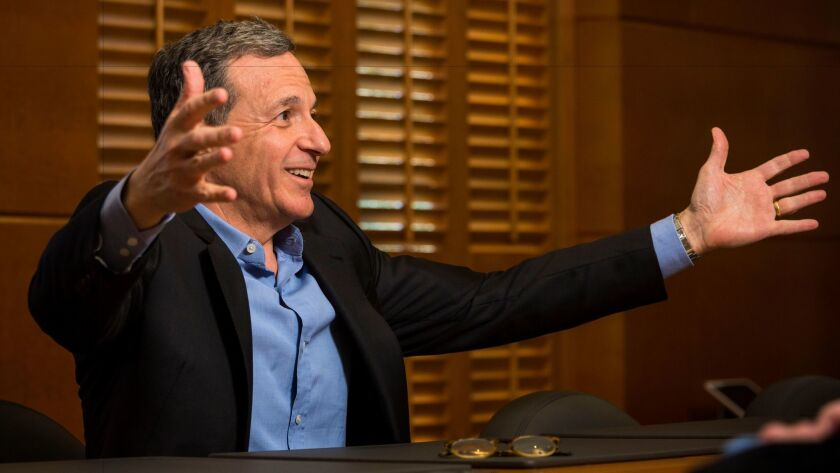 Disney chief Robert Iger, shown in 2015, has a new deal with the company that lasts until July 2, 2019.