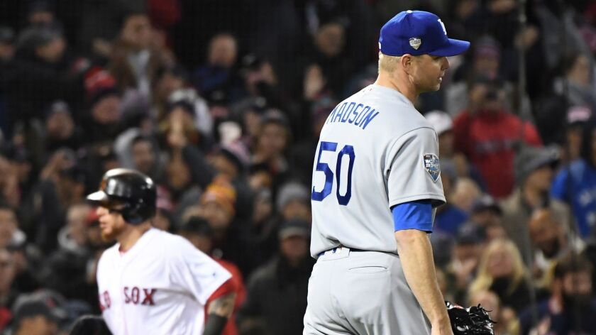 Ryan Madson is disgusted after walking in a run.