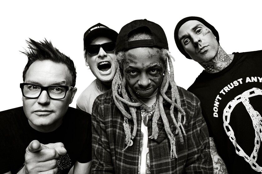 blink 182 & Lil Wayne