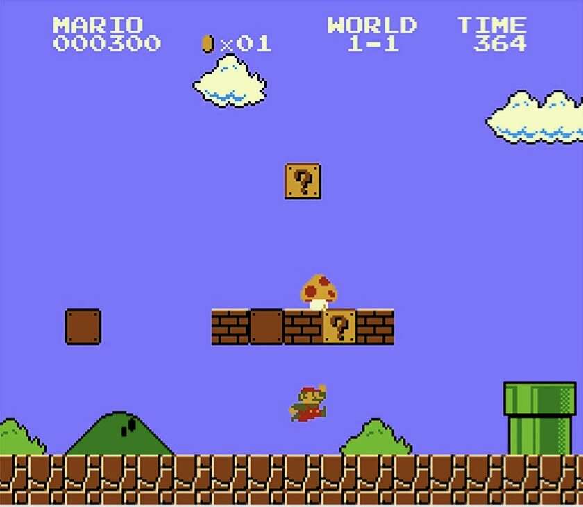 Nintendo's Super Mario Maker will allow players to create their own Mario levels.