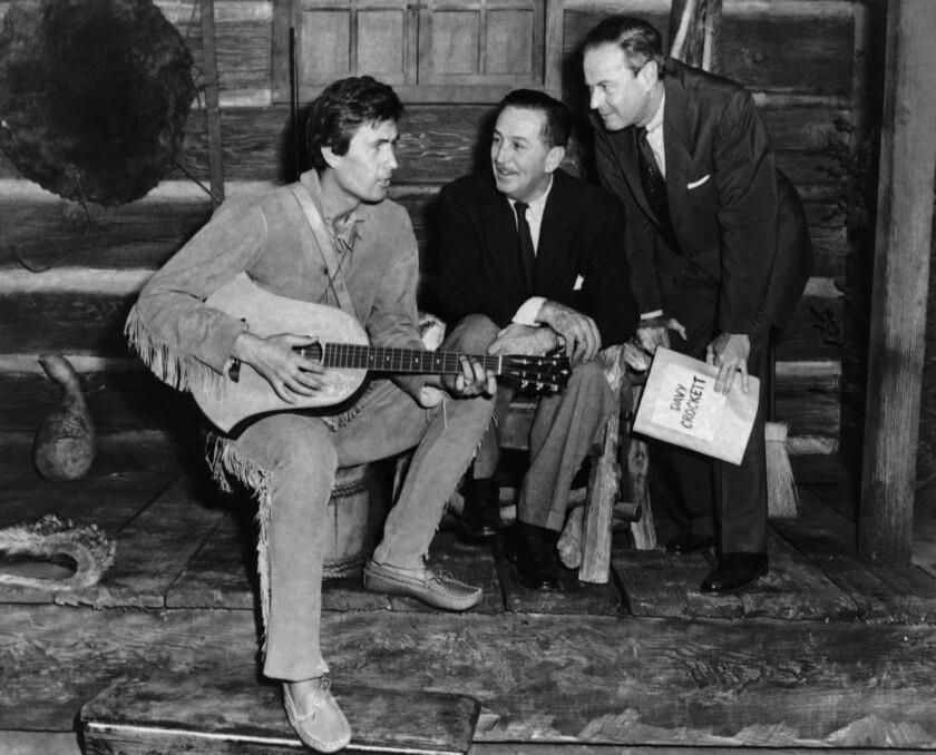 Fess Parker, Walt Disney, Norman Foster