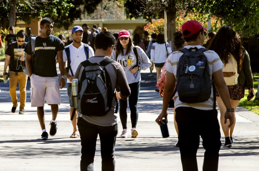 UC Riverside students are among the most diverse in the University of California system.
