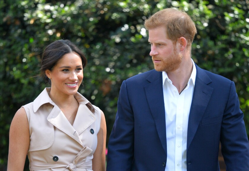 Duchess and Duke of Sussex