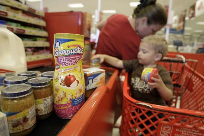 High amounts of sugar and sodium were common in more than 1,000 food items for infants and toddlers that were analyzed by researchers from the Centers for Disease Control and Prevention.