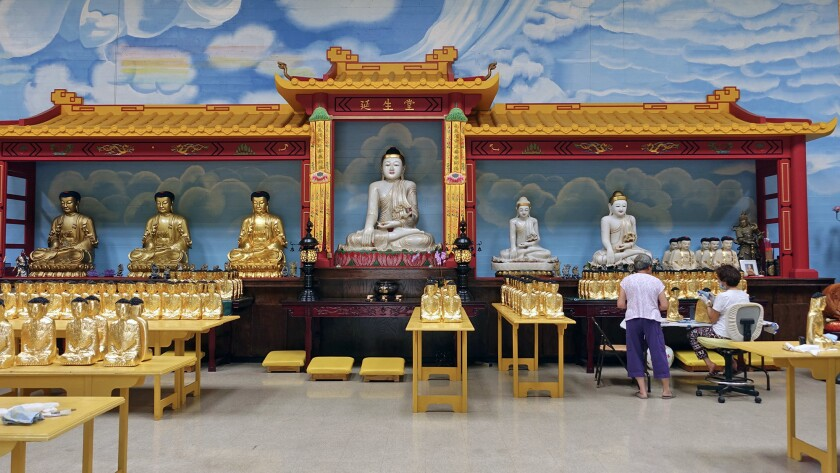 Ukiah CA ? July 24: Just east of town, guests can visit the City of 10,000 Buddhas, the largest Budd