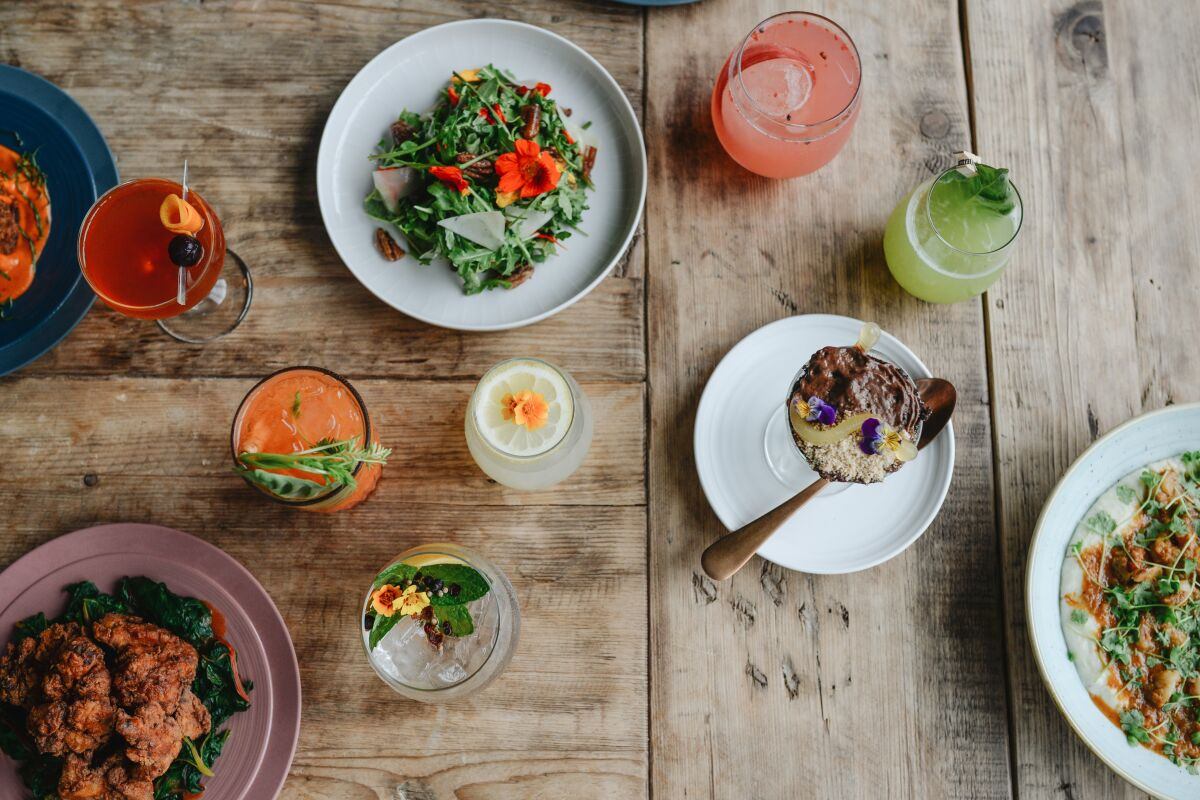 You & Yours Distilling Co.'s new menu features Southern-inspired dishes.