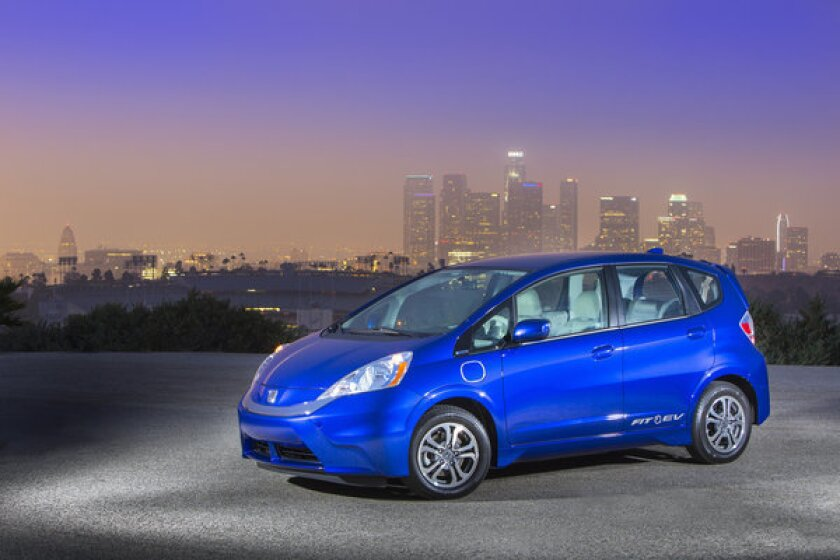 Honda joins electric car pricing battle with $259 lease on Fit EV