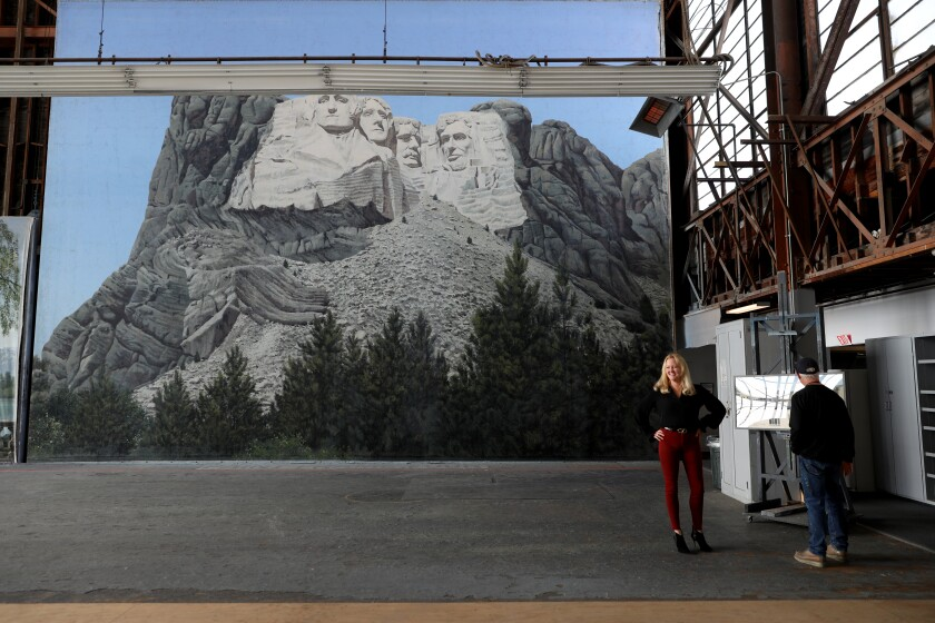 'North by Northwest' backdrop