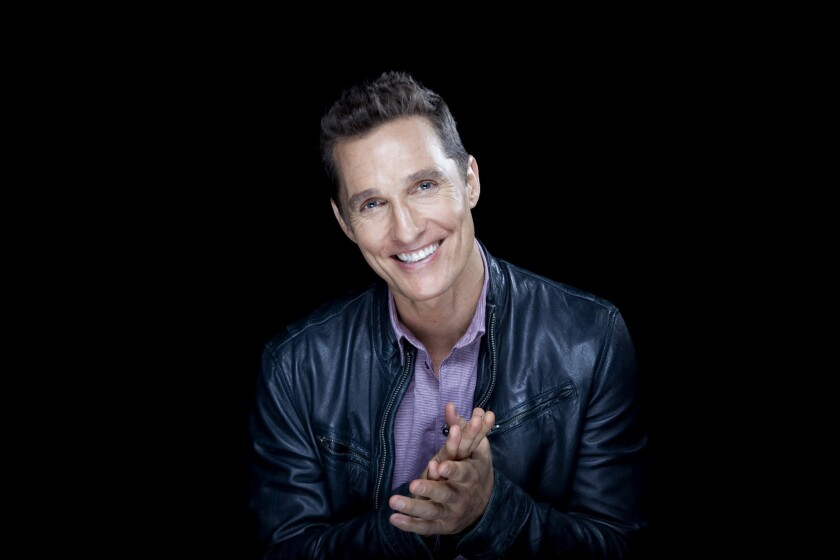 """Matthew McConaughey won the prize for best actor in a motion picture, drama for his role in """"Dallas Buyers Club."""""""