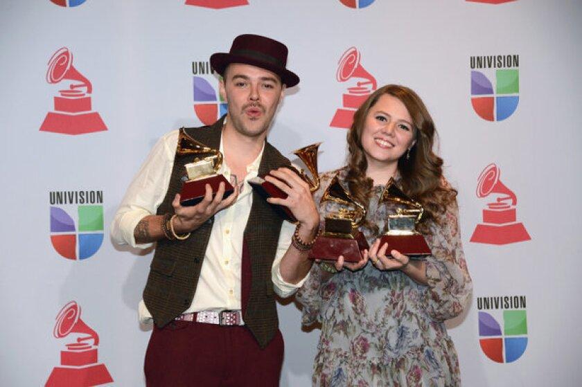 Latin Grammy winners Jesse y Joy reportedly will split