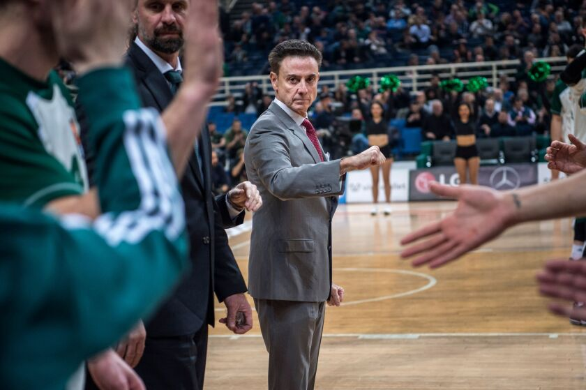 Rick Pitino, who won NCAA titles with Kentucky and Louisville, was hired as Iona College's men's basketball coach on Saturday.
