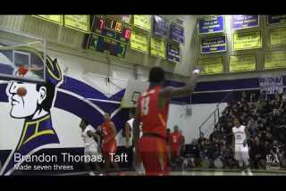 Taft knocks off Birmingham to take over first place