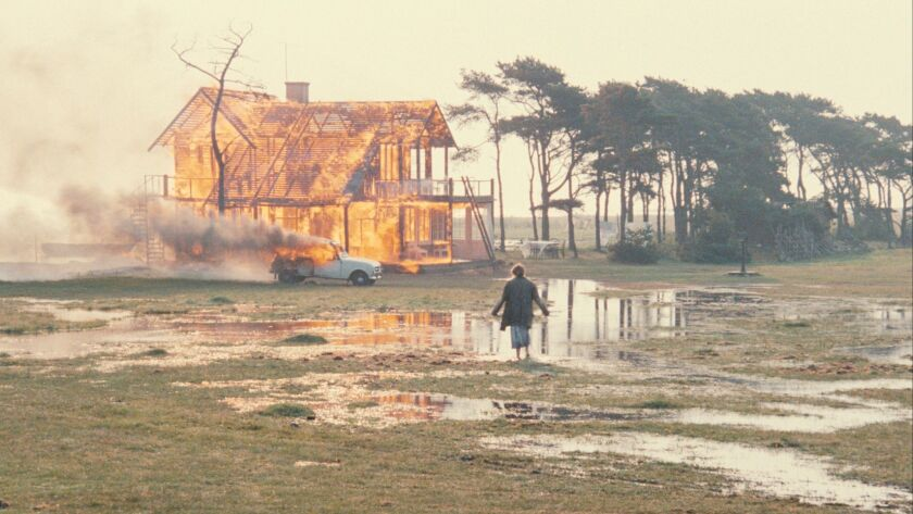 "Susan Fleetwood in a scene from Andrei Tarkovsky's ""The Sacrifice."" Credit: Kino Lorber"