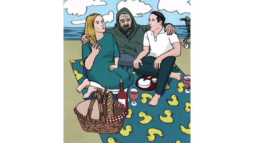 Beach blanket hobo