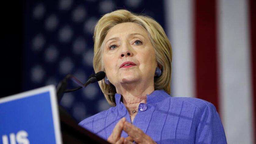 Hillary Clinton expresó su confianza en ganar dicho estado, el cual se encontraba virtualmente empatado en las encuestas más recientes.