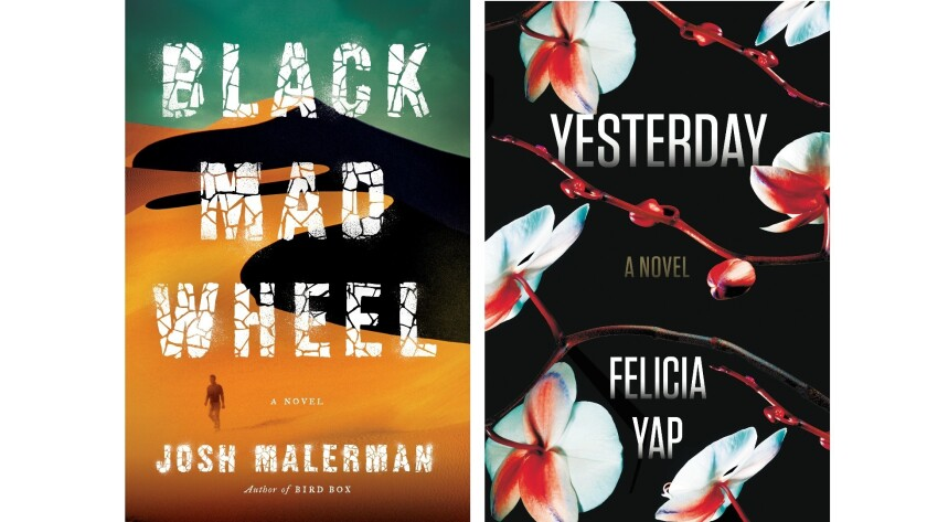 """""""Black Mad Wheel"""" by Josh Malerman and """"Yesterday"""" by Felicia Yap"""