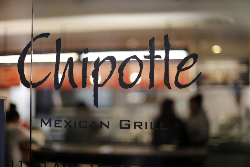 """Chipotle says a subpoena requires it to produce a """"broad range of documents"""" related to a Simi Valley restaurant that experienced a norovirus incident."""
