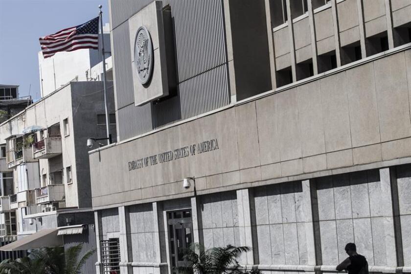 """El presidente electo, Donald Trump, sigue """"firmemente convencido"""" de la necesidad de trasladar la embajada estadounidense en Israel desde Tel Aviv a Jerusalén, afirmó hoy un portavoz del Equipo de Transición Presidencial. EFE/ARCHIVO"""