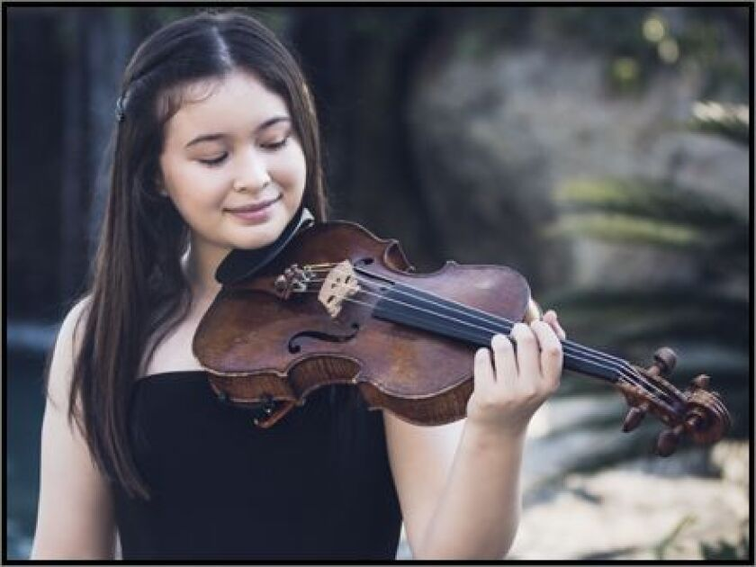Violinist Sara Maxman
