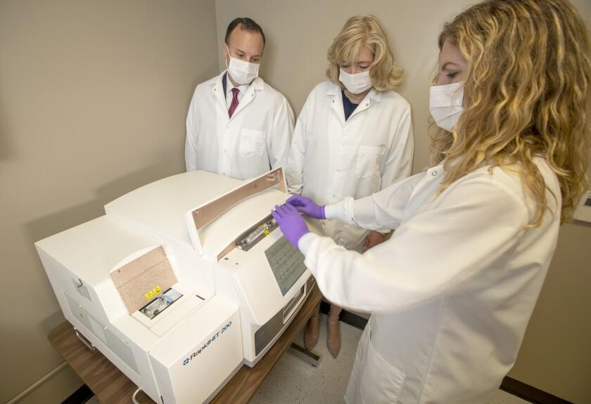 Rapid DNA machine