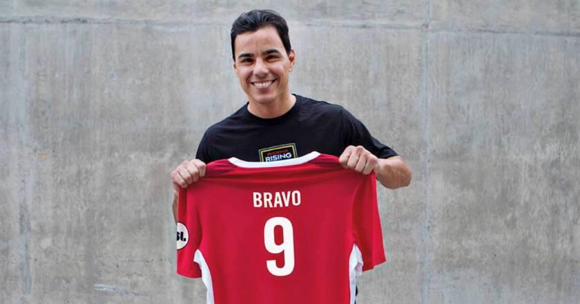 Omar Bravo, tendrá el '9' con el Phoenix Rising FC.