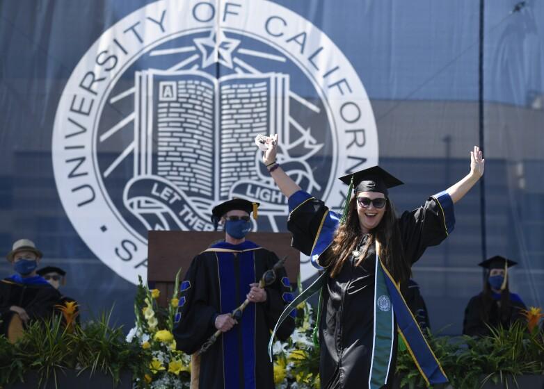 UC San Diego graduate Lisa Nicole Flores Chandler