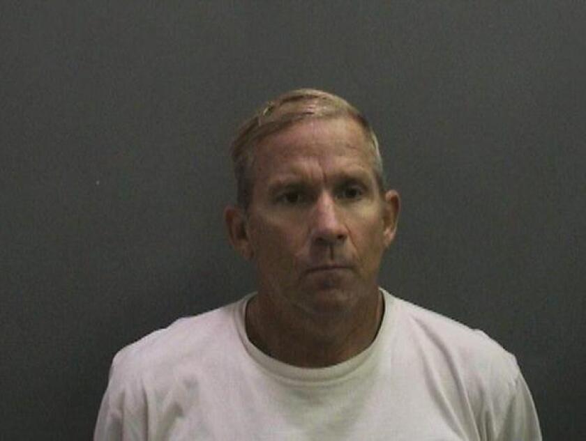 Orange County Sheriff's Department booking photo of Richard Rack.
