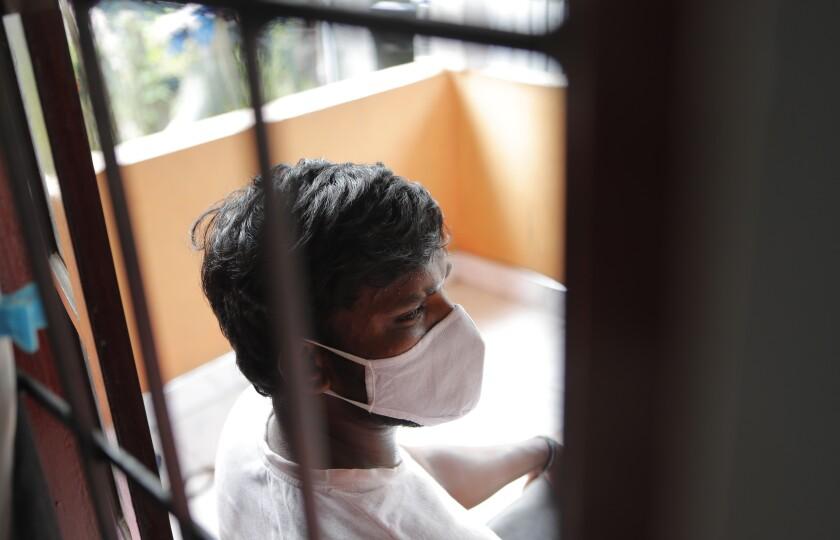 Sri Lankan auto rickshaw driver Prasad Dinesh