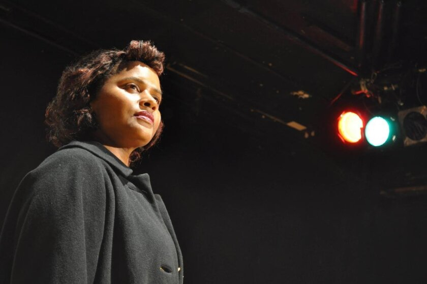 """Monique Gaffney stars in """"Trouble in Mind"""" at Moxie Theatre."""