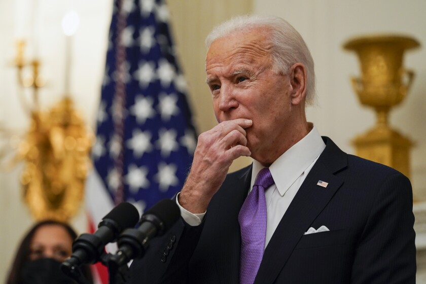 Several Republican lawmakers have voiced opposition to provisions in President Joe Biden's plan.