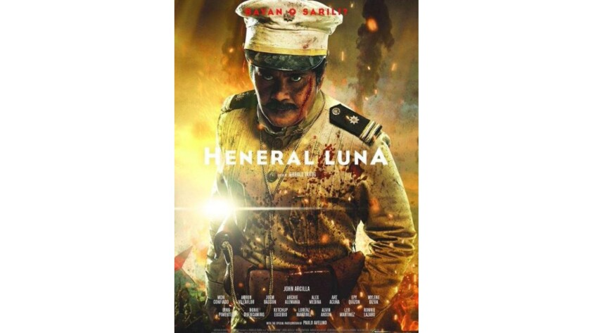 """The poster image for the film """"Heneral Luna."""""""