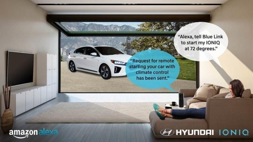 HYUNDAI ADDS BLUE LINK SKILL FOR AMAZON ALEXA - StartCar