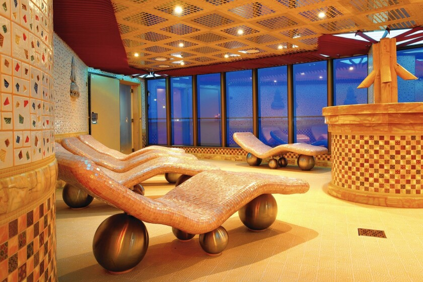 Costa Cruises' CostaClub includes a free spa day and access to the Club restaurant among its perks.
