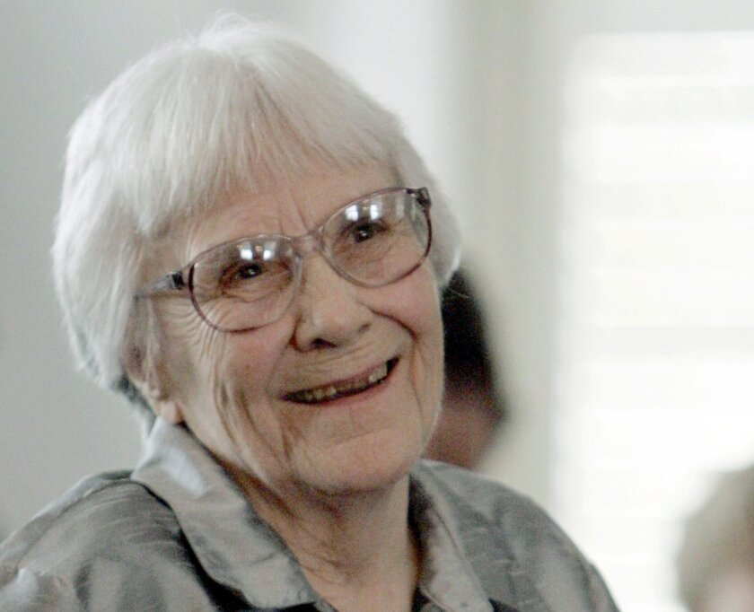 """FILE - In this Aug. 20, 2007, file photo, author Harper Lee smiles during a ceremony honoring the four new members of the Alabama Academy of Honor at the Capitol in Montgomery, Ala. Harper Lee, the elusive author whose """"To Kill a Mockingbird"""" became an enduring best seller and classic film with its"""