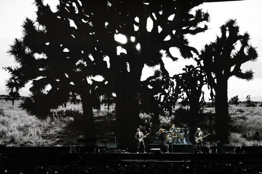 U2 ends the Joshua Tree tour in San Diego