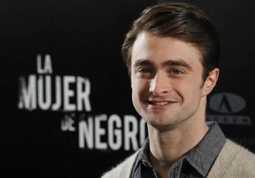Fotografía de archivo del actor Daniel Radcliffe. EFE/Archivo