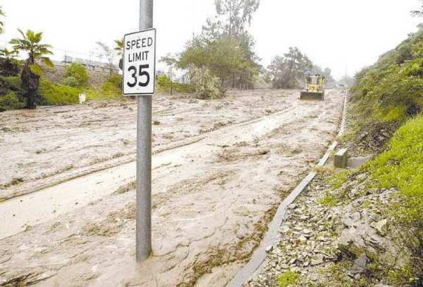 Glendale sued over claims that it underpaid for mudslide repair work