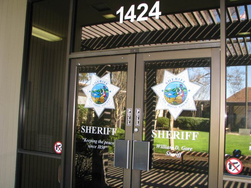Sheriff's Ramona Senior Volunteer Patrol will do free security inspections as time permits.