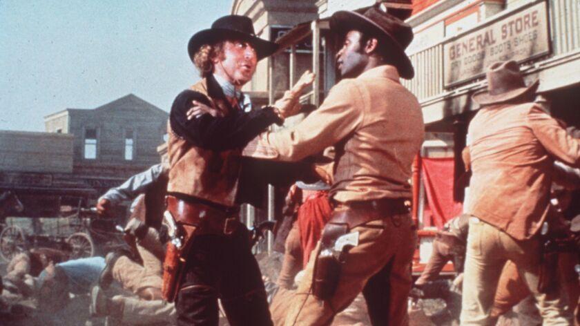 "ET.0919.Blazing.Copy of Gene Wilder, left, and Cleavon Little in the 1974 Warner Bros. film,""Blazing"