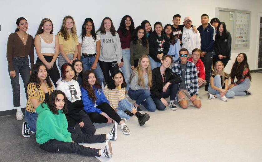 The 2020 La Jolla High School yearbook class rushed to finish the yearbook from home.