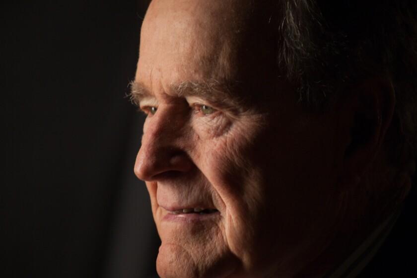 George H. W. Bush died Friday night at age 94.