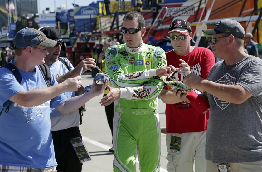 NASCAR Charlotte Disappointed Fans Auto Racing