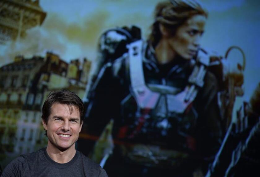 Fotografía de archivo del actor estadounidense Tom Cruise. EFE/Archivo