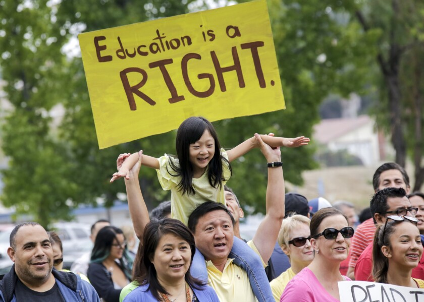 Fighting for school choice
