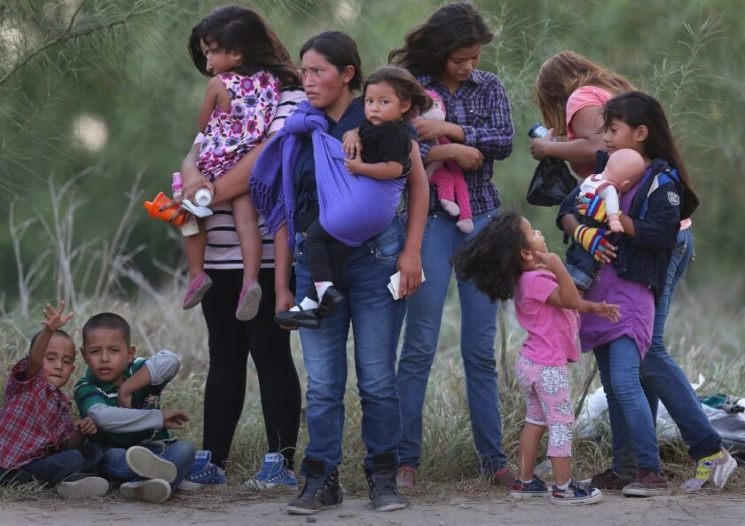 Migrant women and children