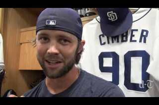 The stories behind Padres' reliever Adam Cimber's tattoos